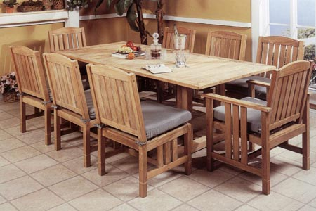 Teak Wailea Dining Set