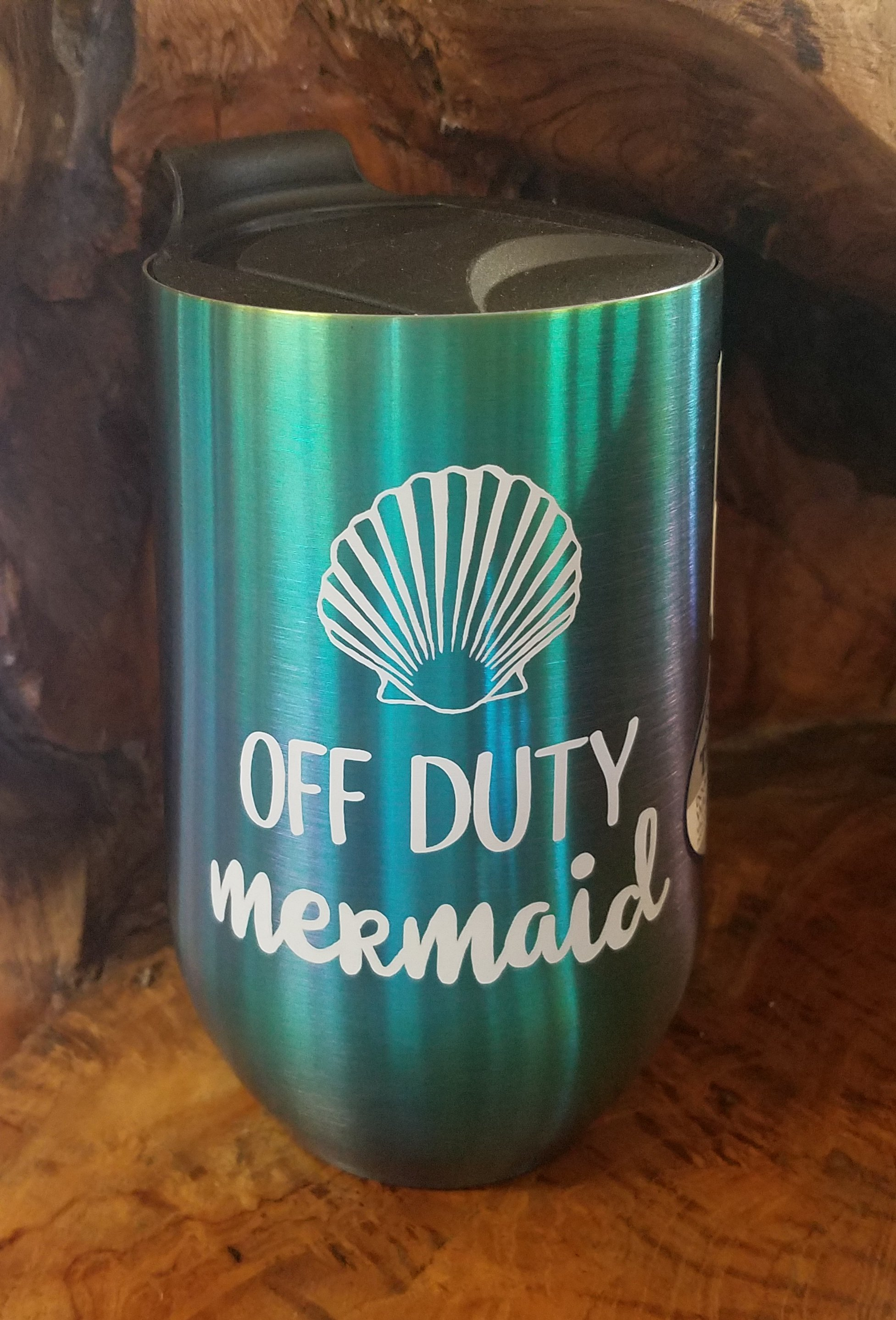 Off Duty Mermaid Insulated Tumbler | Otterlei Coastal - Beach Décor